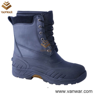 Top Layer Leather Women Snow Boots (WSB001)