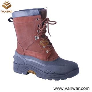 Stitched Waterproof Women Snow Boots (WSB005)