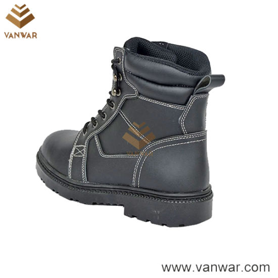 Durable Cow Leather Military Working Boots (WWB065)