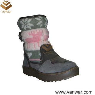 Female High Quality Russian Cemented Snow Boots (WSCB011)