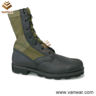 Removable Cushion Military Jungle Camouflage Boots (WJB009)