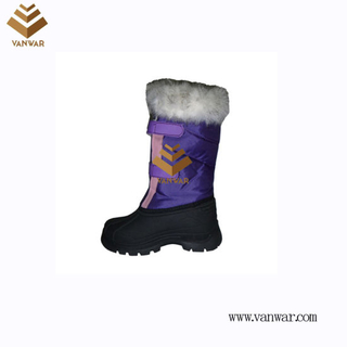 Cheap Price Snow Boots with High Quality and Waterproof Outsole (WSB029)
