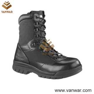Military Durable Tactical Boots of Black (WTB022)