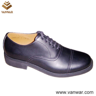 Us Military Officer Shoes of High Quality (WMS018)