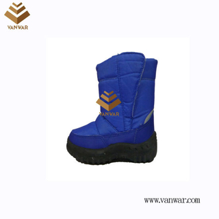 Anti-Slip Injected Snow Boots for Children (WSIB043)