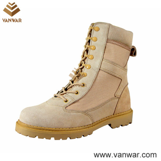 Military Promote Waterproof Desert Boots in Goodyear Welt (WDB030)