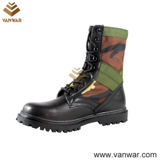 Panama Military Camouflage Boots with Brass Drainage Vents (CMB011)