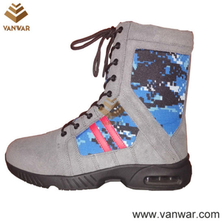 New Design Suede Camouflage Military Boots (CMB024)