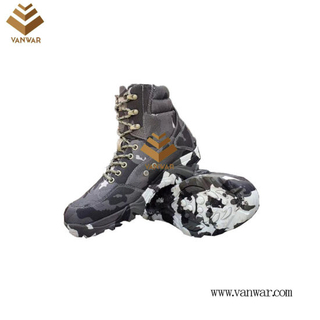 Military Camouflage Boots with High Quality (WDB067)