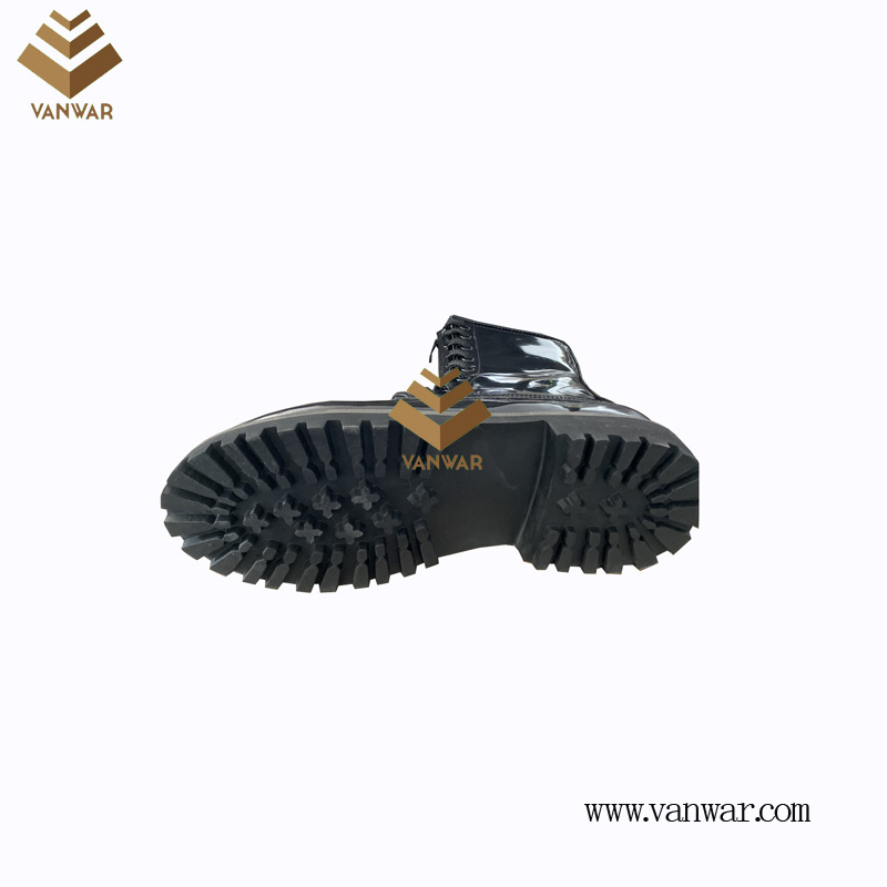 Combat Military Leather Boots of Black with High Quality (WCB080)