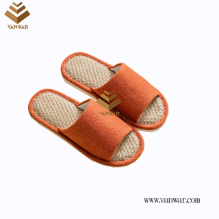 Customize Indoor Cotton winter home Slippers with High Quality (wis108)