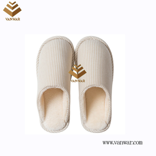 Customize Indoor Cotton winter home Slippers with High Quality (wis097)