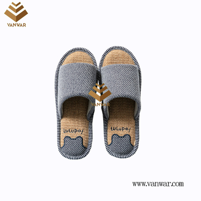 Customize Indoor Cotton winter home Slippers with High Quality (wis082)