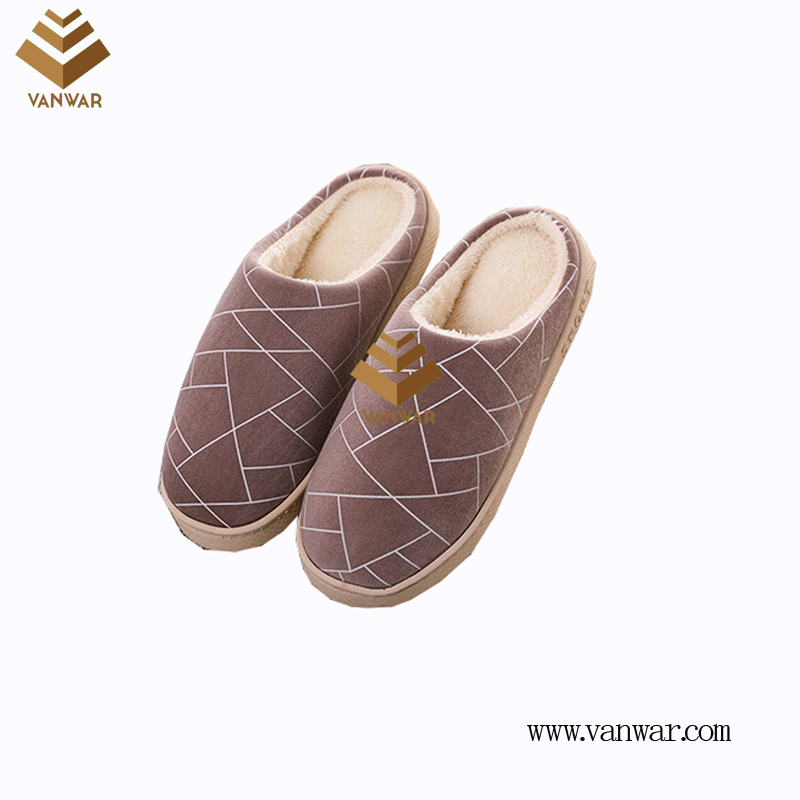 Customize Indoor Cotton lovely design Slippers with High Quality (wis003)