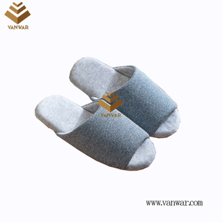 Customize Indoor Cotton winter home Slippers with High Quality (wis117)