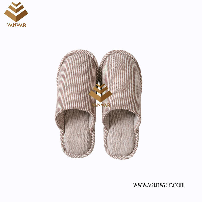 Customize Indoor Cotton winter home Slippers with High Quality (wis120)