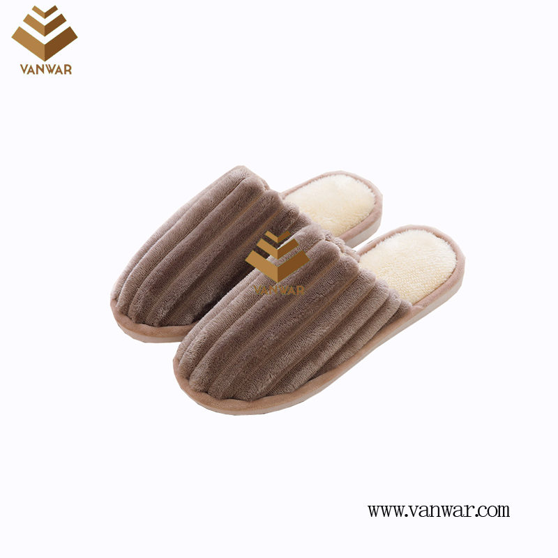 Customize Indoor Cotton lovely design Slippers with High Quality (wis033)