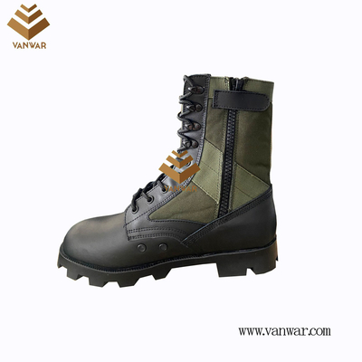 Military Jungle Boots with Zippers with high quality(WJB060)