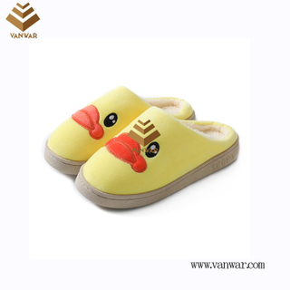 Customize Indoor Cotton lovely design Slippers with High Quality (wis049)