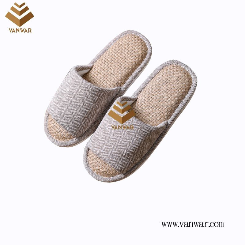 Customize Indoor Cotton winter home Slippers with High Quality (wis070)