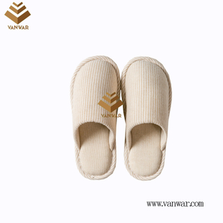 Customize Indoor Cotton winter home Slippers with High Quality (wis123)