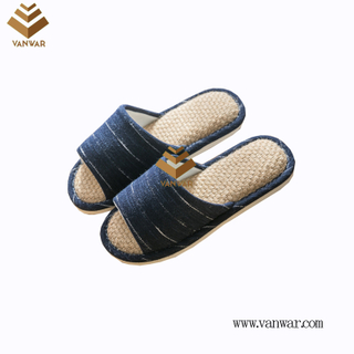 Customize Indoor Cotton winter home Slippers with High Quality (wis106)