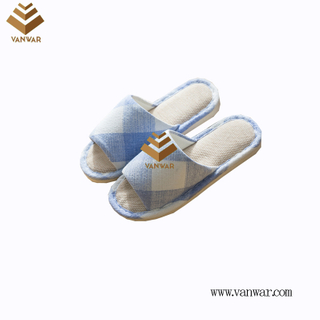 Customize Indoor Cotton winter home Slippers with High Quality (wis099)
